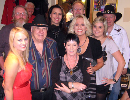 Christie, Allan, Kenny, Alby, Nicki, Jenny, Beccy, Bob, Sharnee, Rob