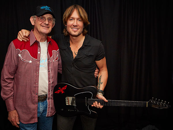 Allan Tomkins and Keith Urban