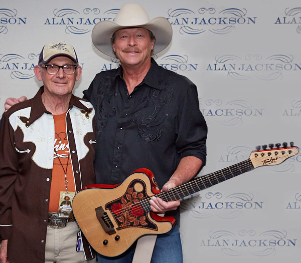 Allan Tomkins and Alan Jackson 2013