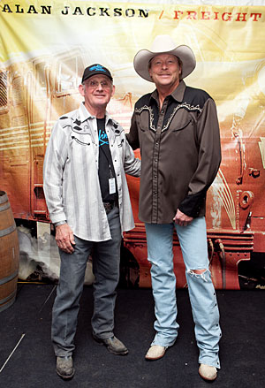 Allan Tomkins and Alan Jackson