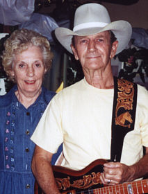 Cowboy Lloyd Cross and his wife Doris